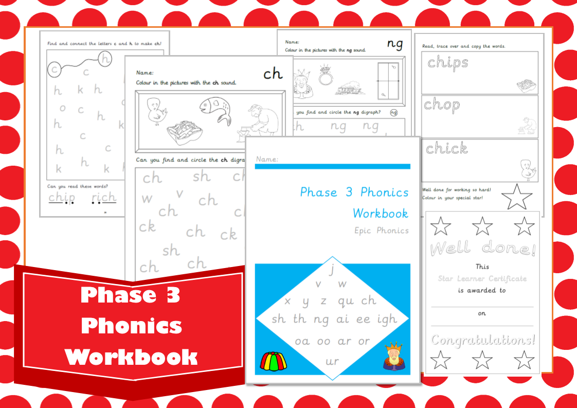 Phase 3 Letters And Sounds Workbook
